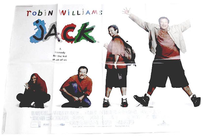 Jack British Quad Film Poster 1996