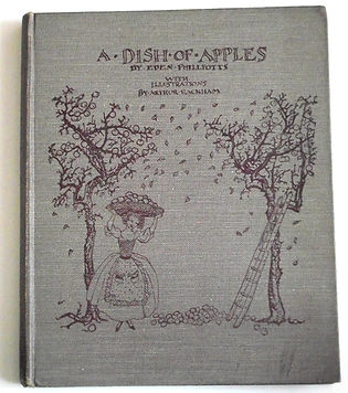 Arthur-Rackham-A-Dish-of-Apples-1921-Fro