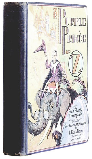 Ruth Plumly Thompson The Purple Prince of Oz First Edition 1932