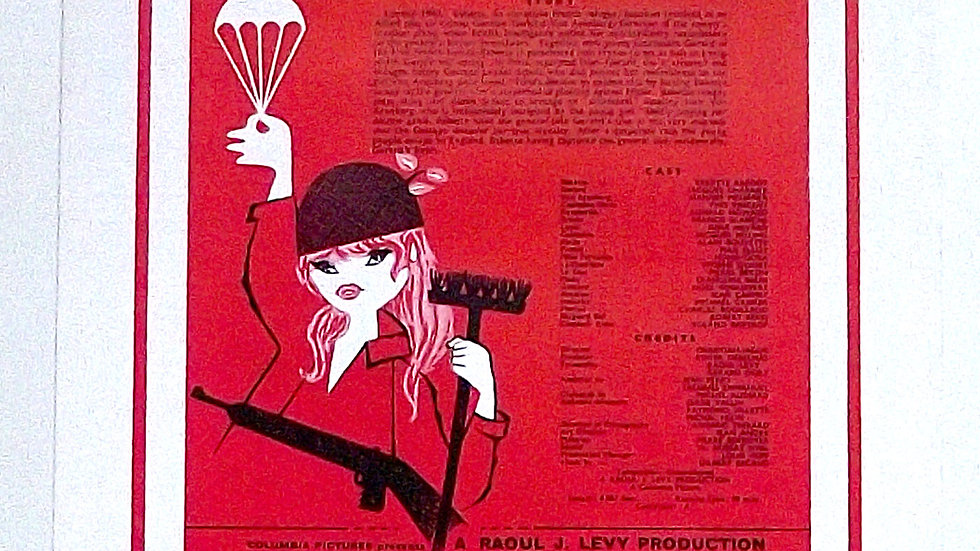 Brigitte Bardot Babette Goes To War Columbia Pictures Film Campaign Book 1959