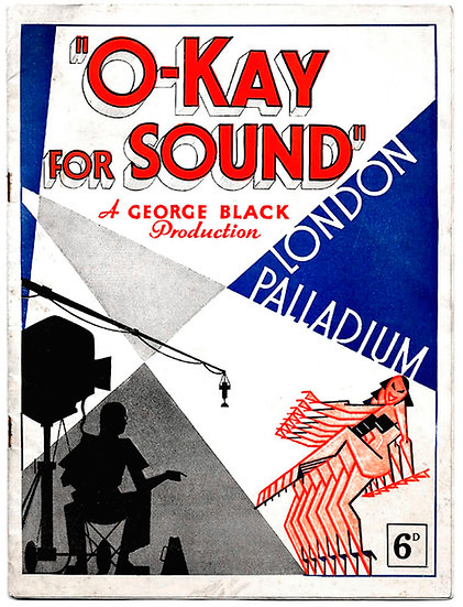 O-Kay For Sound London Palladium Theatre Programme 1936