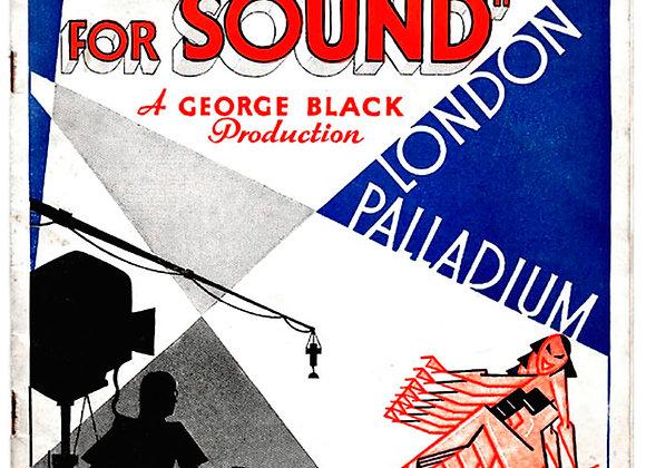 O-Kay For Sound London Palladium Theatre Programme 1936