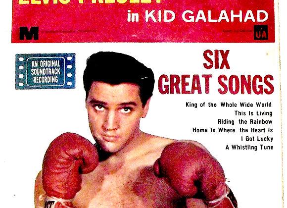 Elvis Presley Kid Galahad EP 1963