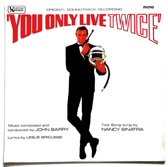 James Bond You Only Live Twice Mono Soundtrack LP 1967
