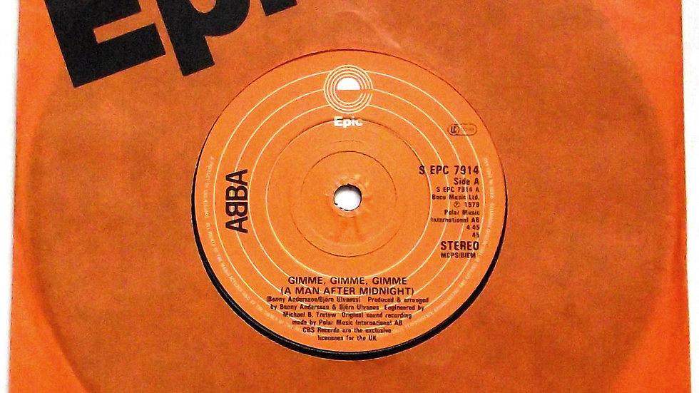 ABBA Gimme Gimme Gimme Single 1979