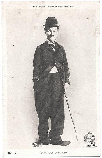 The First 3 Charlie Chaplin Essanay Studios Postcards