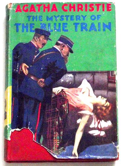 Agatha Christie The Mystery of the Blue Train Hercule Poirot 1955