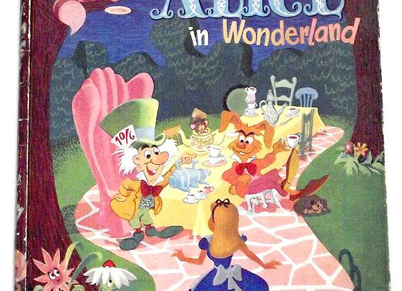 Walt Disney Alice In Wonderland First Edition Book 1951