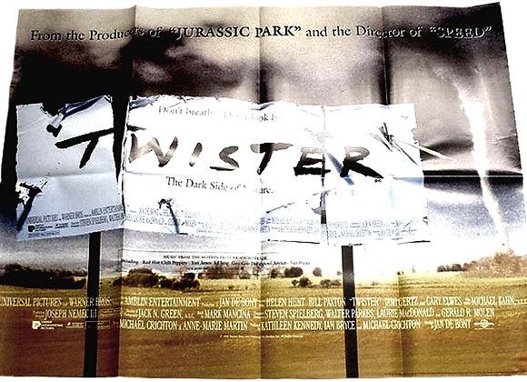 Twister British Quad Film Poster 1996