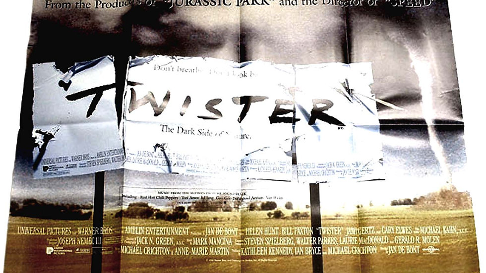 Twister British Quad Film Poster 1996