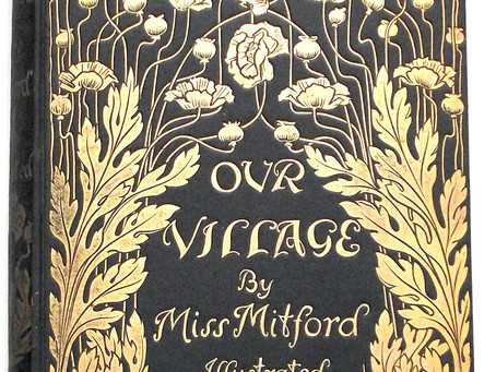 Miss Mitford Our Village Illustrated by Hugh Thomson First Edition 1893 with Original Binding