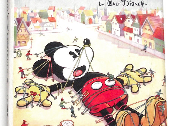 Walt Disney Mickey Mouse In Pigmy Land with Dust Jacket 1935