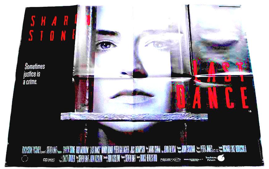 Sharon Stone Last Dance British Quad Film Poster 1996