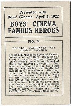 Boys-Cinema-Famous-Heroes-Card-No-5-Doug