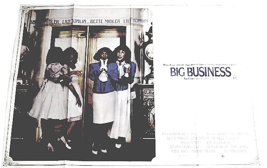 Bette Midler Big Business Film Poster 1988