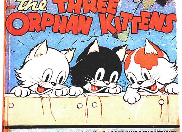 Walt Disney Silly Symphony Three Orphan Kittens First Edition 1935