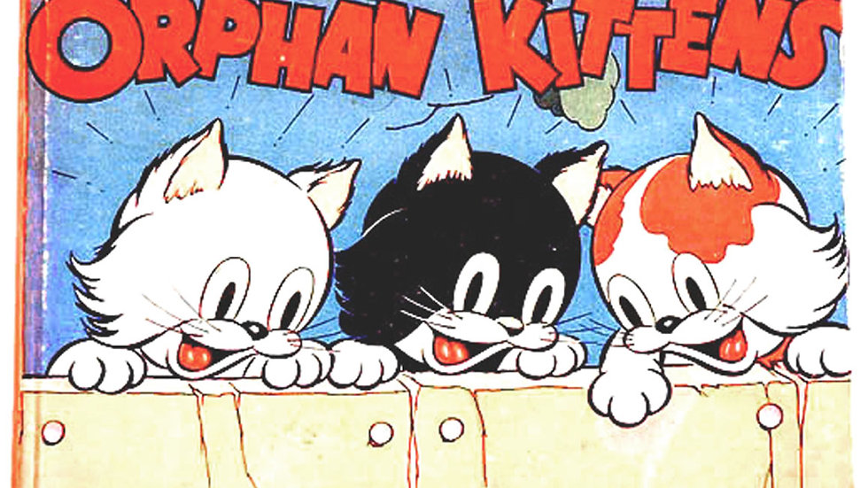 Walt Disney Silly Symphony Three Orphan Kittens First Edition 1935
