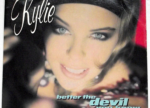 Kylie Minogue Single Better the Devil You Know & I'm Over Dreaming Over You 1990