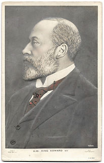 Bas-Relief-King-Edward-VII-Photo-Card-Fr