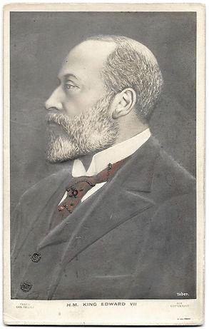 Bas-Relief-King-Edward-VII-Photo-Card-Fr