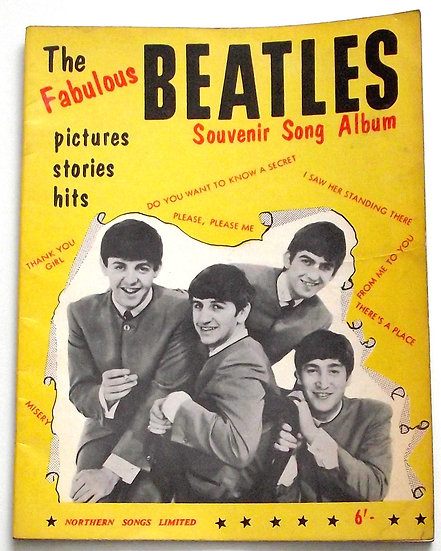 The Fabulous Beatles Souvenir Song Albums 1963 and 1964