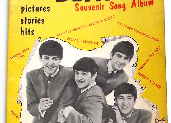 The Fabulous Beatles Souvenir Song Albums 1963 and 1964