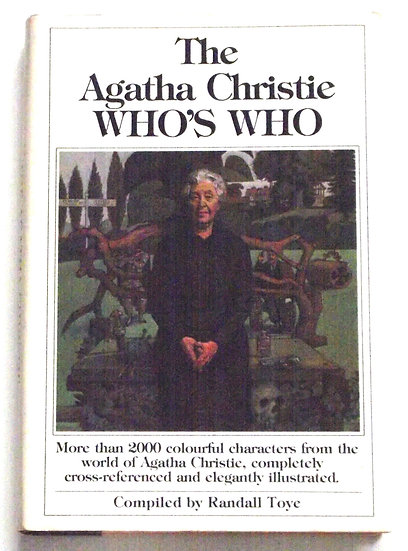 The Agatha Christie Who's Who First Edition Book 1980