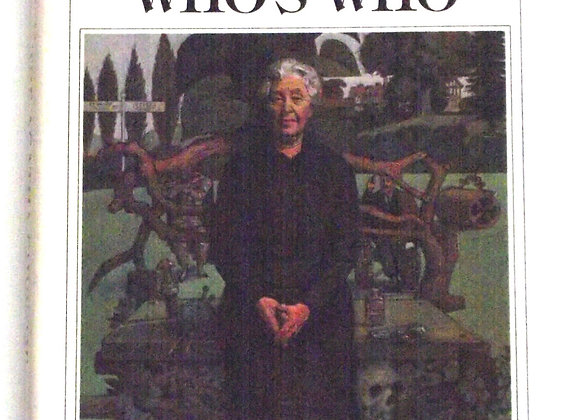 The Agatha Christie Who's Who Used Book 1980