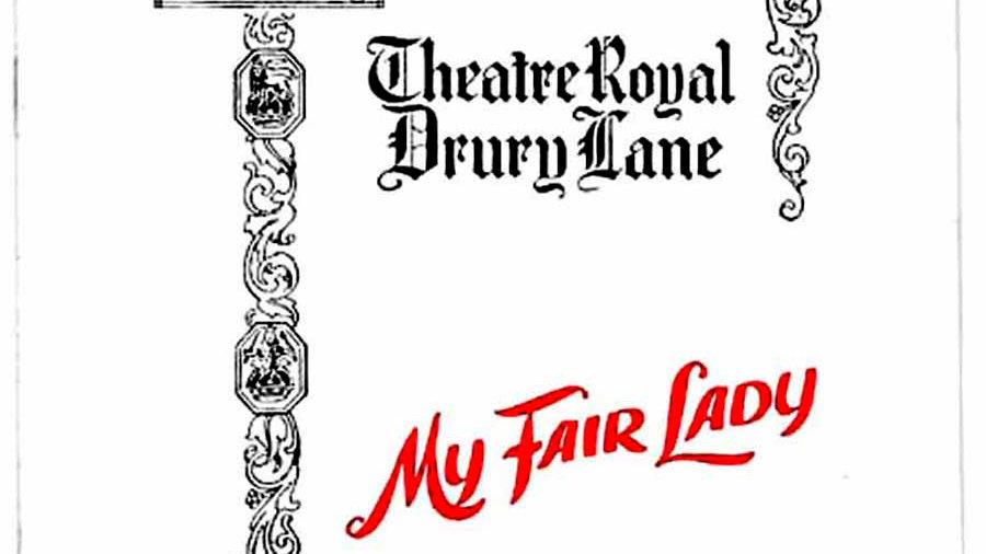 My Fair Lady Theatre Programme Theatre 1961-1963