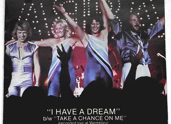 ABBA I Have a Dream Special Souvenir Edition Single 1979