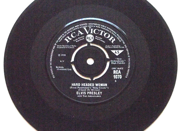 Elvis Presley Hard Headed Woman RCA-1070 1965