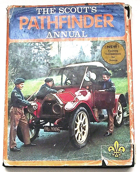 The Scout's Pathfinder Annual Book with Dust Jacket 1972