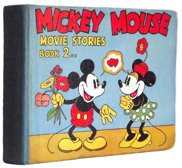 Walt Disney Mickey Mouse Movie Stories Book 2 First Edition 1935