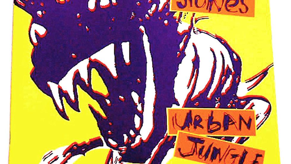 The Rolling Stones Urban Jungle Tour Concert Programme 1990
