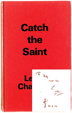 Catch-The-Saint-Book-1980-Book-and-Autog