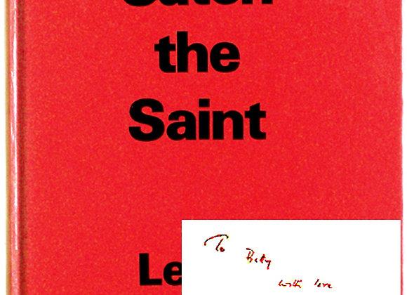 Leslie Charteris Catch The Saint Signed Book 1980