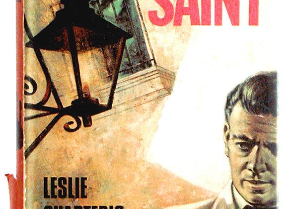 Leslie Charteris Vendetta For The Saint Signed Book 1965
