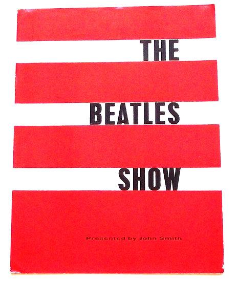 The Beatles Show 1963 Concert Programme