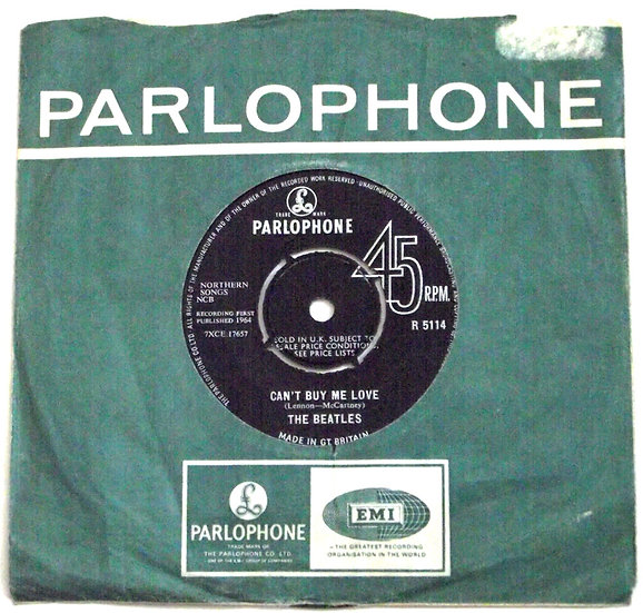 The Beatles Can't Buy Me Love Single 1964