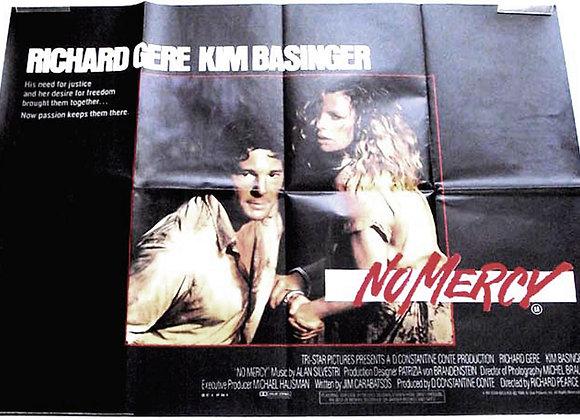Richard Gere & Kim Basinger No Mercy Film Poster 1986