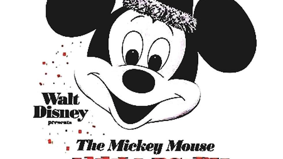 Walt Disney Presents Mickey Mouse Anniversary Show Press Book 1970