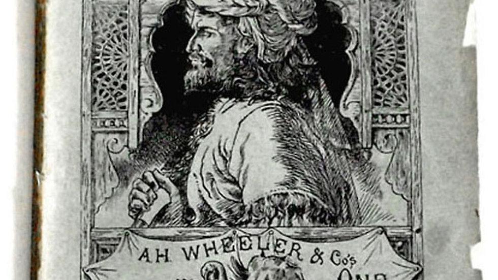 Rudyard Kipling In Black and White UK First Edition 1888