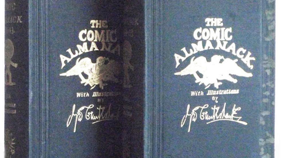 George Cruickshank Books The Comic Almanack First & Second Series