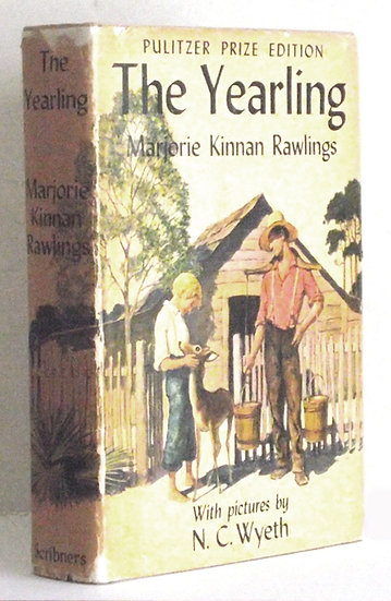 Marjorie Keenan Rawlings The Yearling Pulitzer Prize U.S. Edition 1939