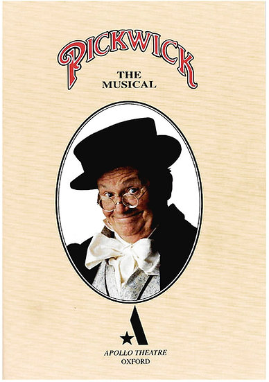 Charles Dickens Pickwick The Musical Theatre Programme 1995