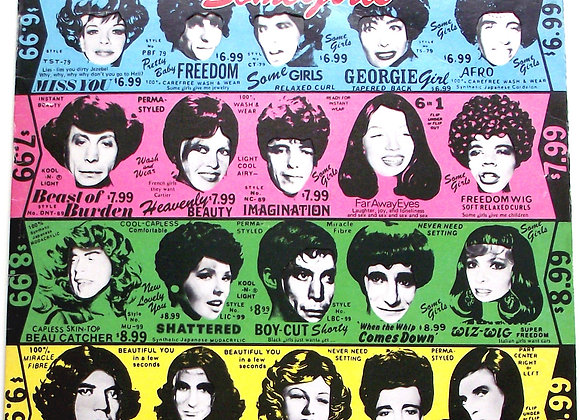 The Rolling Stones Some Girls LP CUN 39108 1978