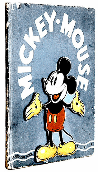 Walt Disney Mickey Mouse A Stand-Out Book First Edition 1936