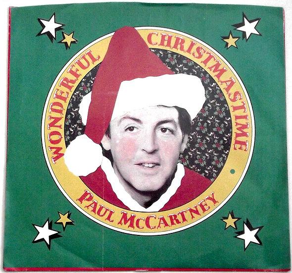 Paul McCartney Wonderful Christmastime Single 1979
