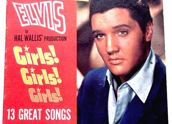 Elvis Presley Girls! Girls! Girls! U.S. LP 1962