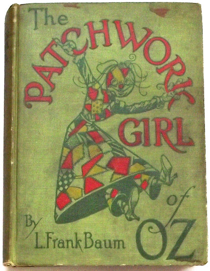 L. Frank Baum The Patchwork Girl of Oz 1913